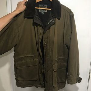 Other - Dark olive green outdoor jacket